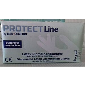 Rukavice PROTECT latex SP 100/1 S