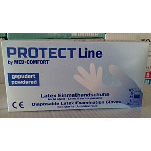 Rukavice PROTECT latex BP 100/1